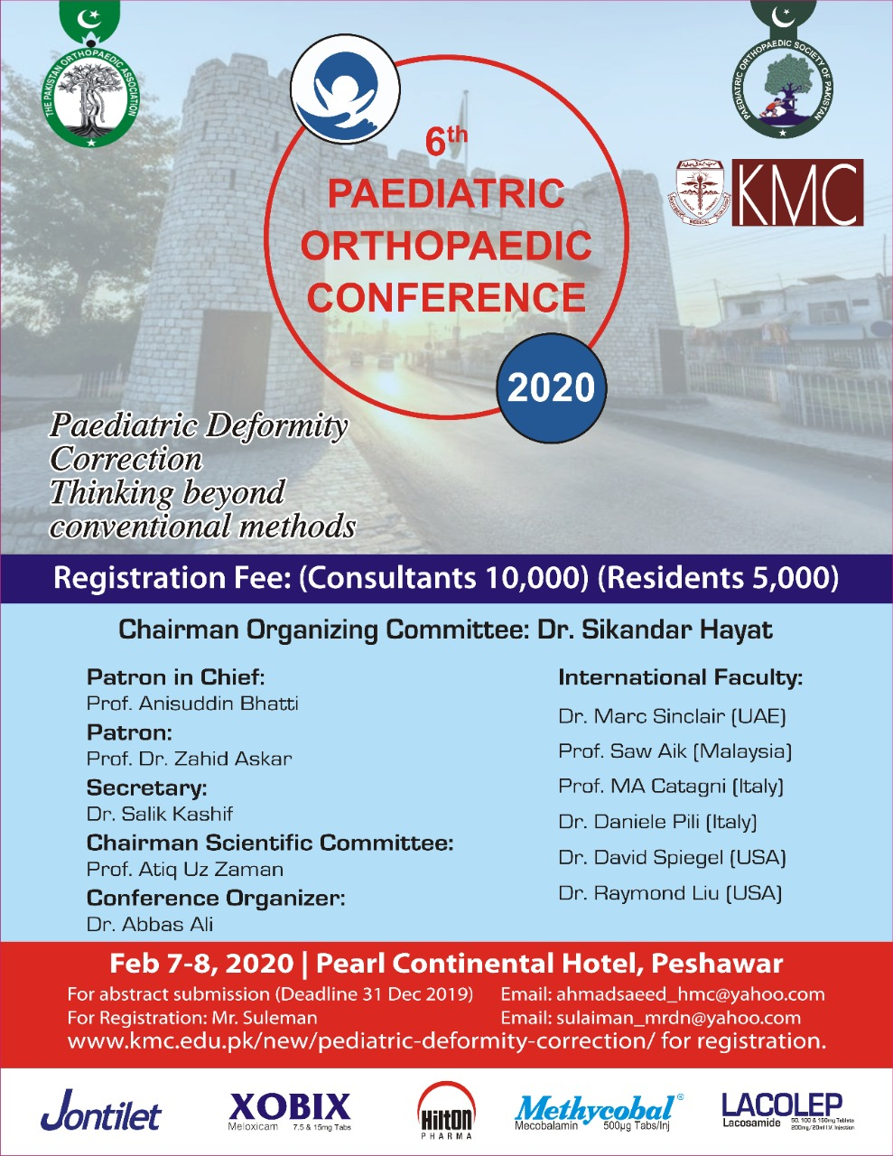 6th Paediatric Orthopaedic Conference