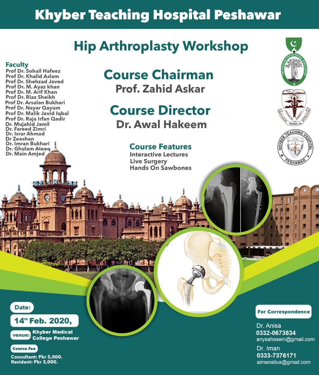 Hip Arthroplasty Workshop