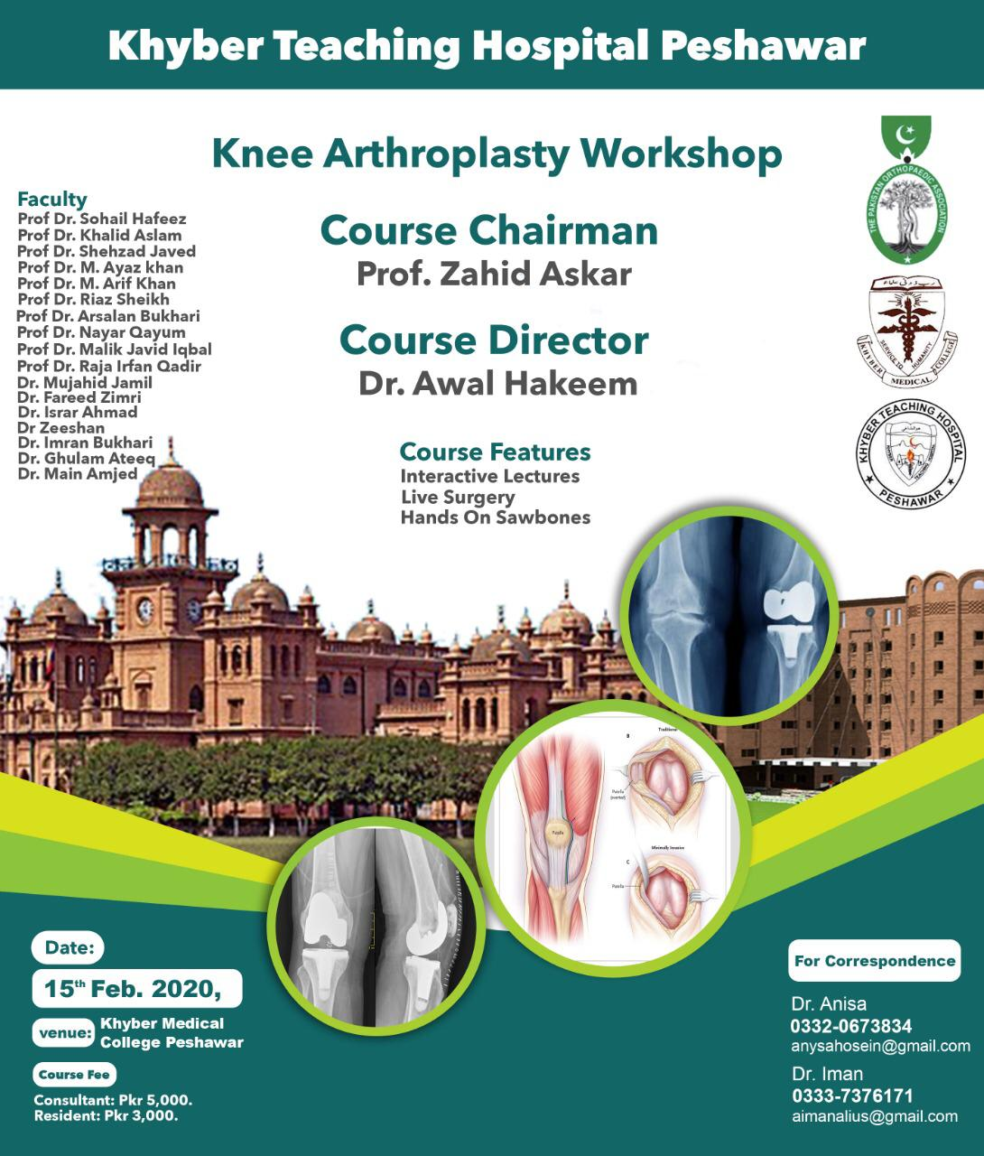 Knee Arthroplasty Workshop
